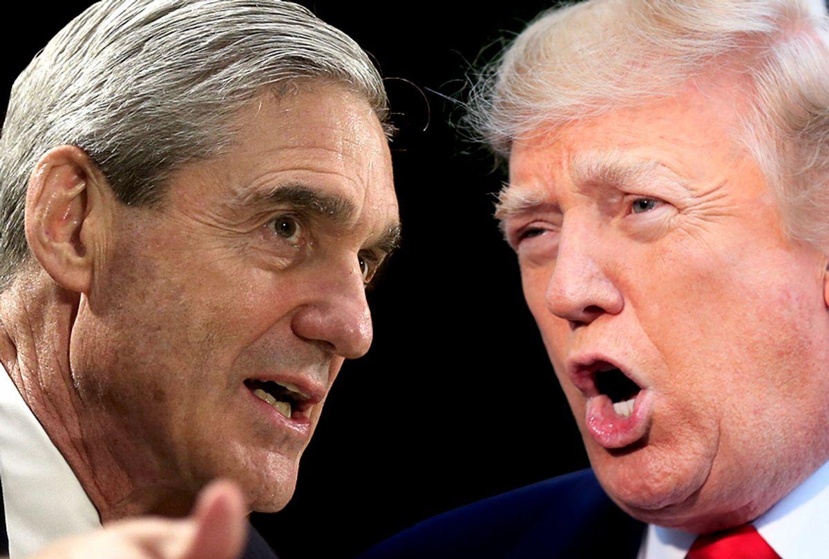Robert Mueller; Donald Trump (Getty/Alex Wong/AP/Manuel Balce Ceneta)