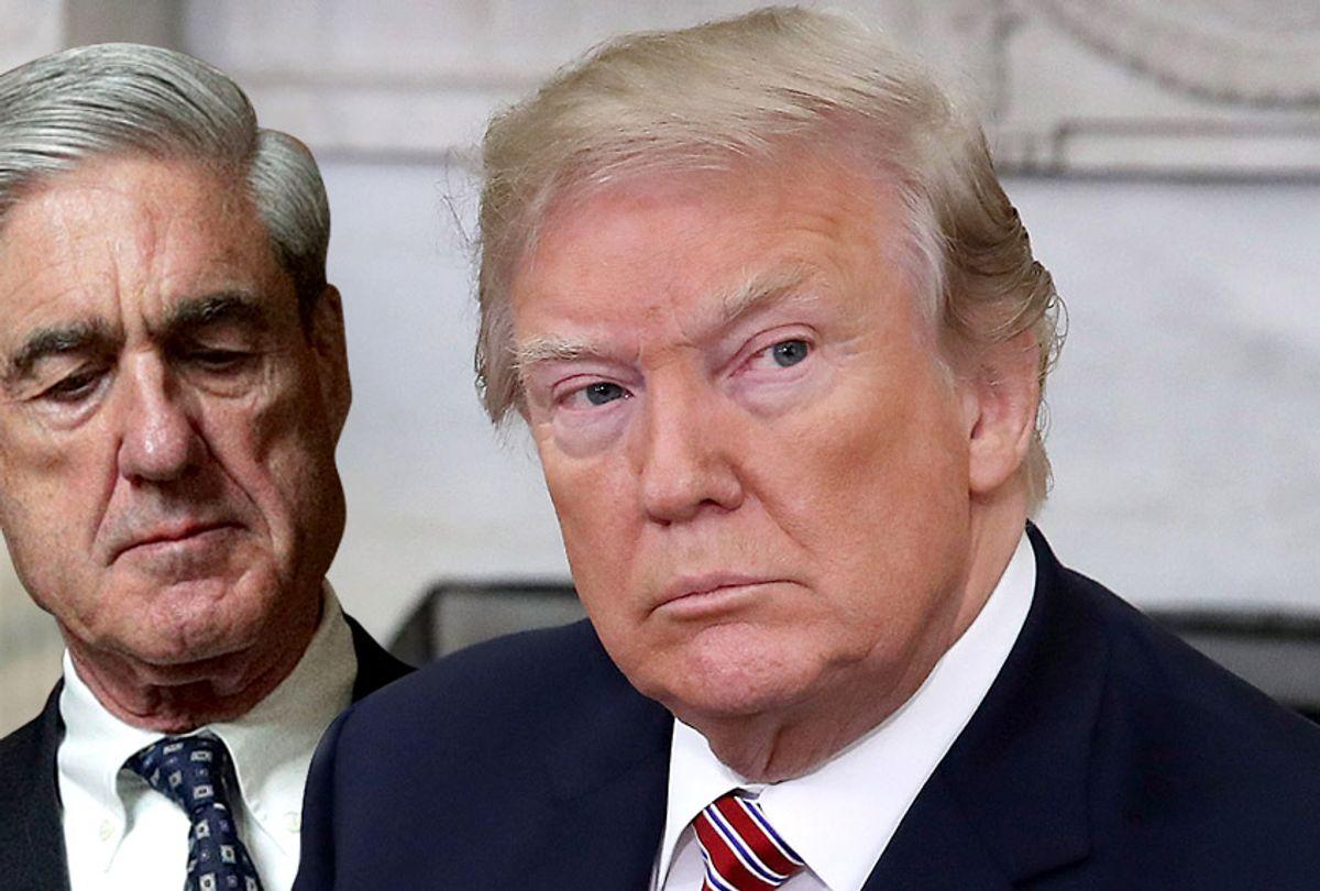 Robert Mueller; Donald Trump (Getty/Alex Wong/Mark Wilson)