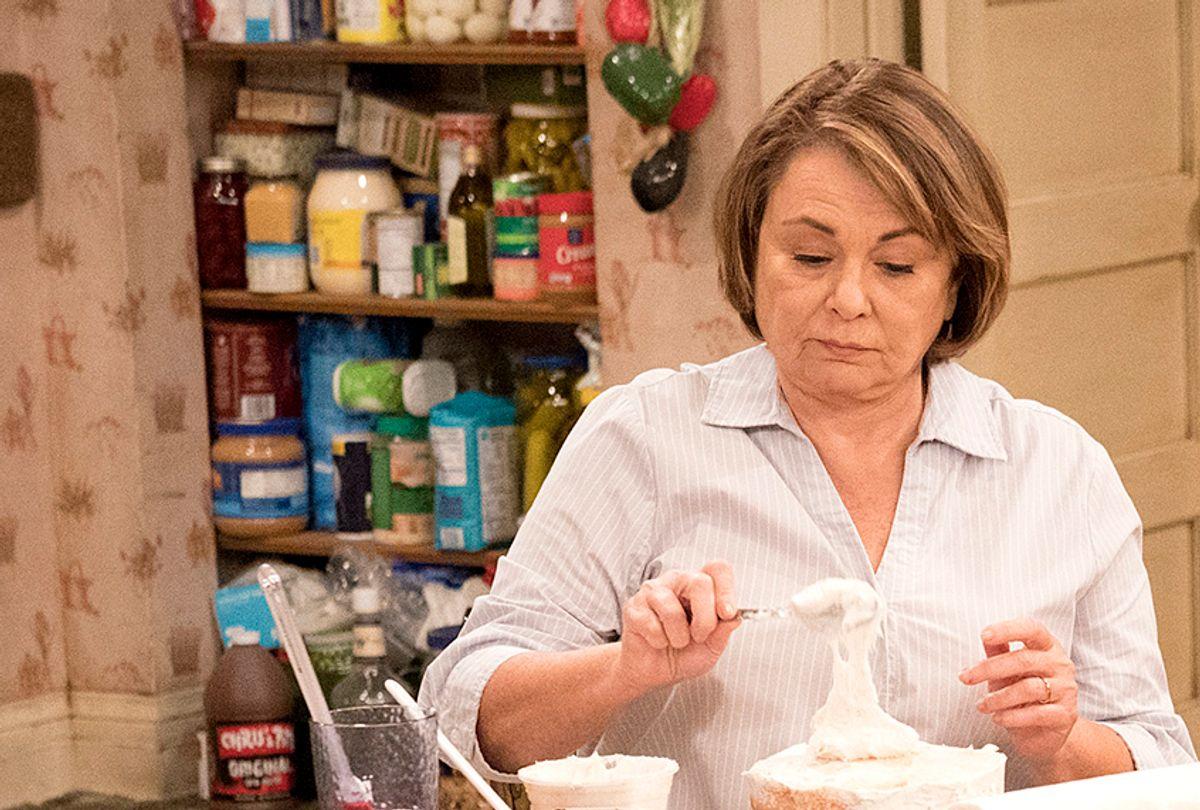 "Roseanne Barr on ""Roseanne"" (ABC/Greg Gayne)"