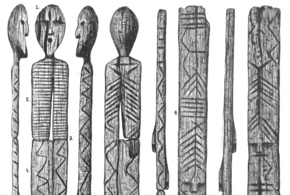 Shigir Idol (Wikimedia)