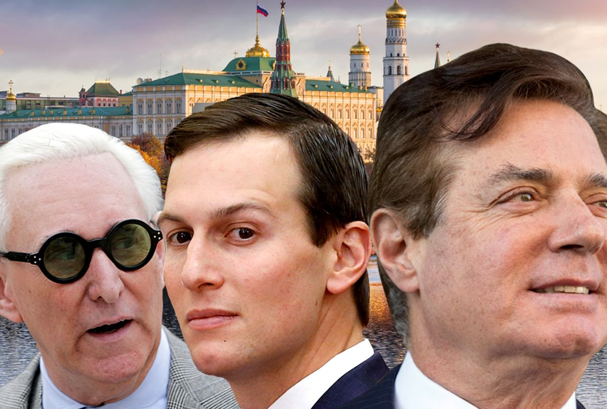 Roger Stone, Jared Kushner, Paul Manafort (Getty/AP/Salon)