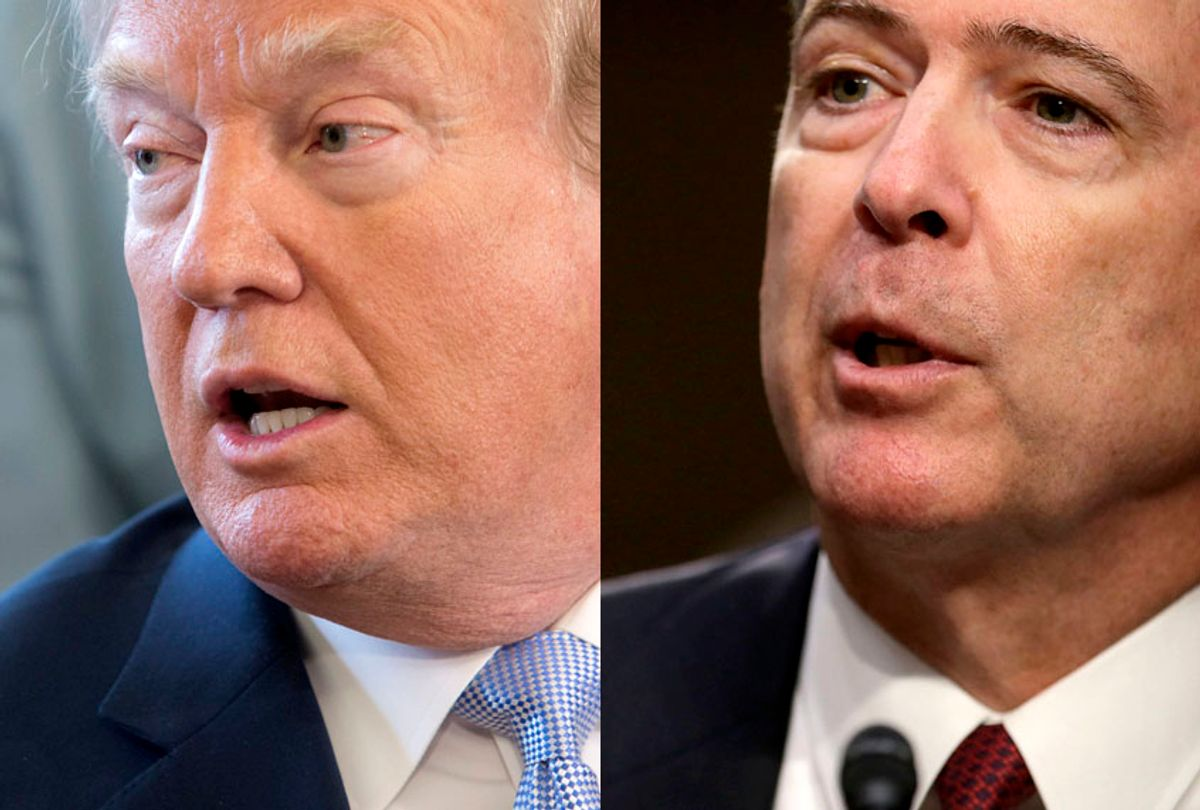 Donald Trump; James Comey (Getty/Chris Kleponis/Chip Somodevilla)