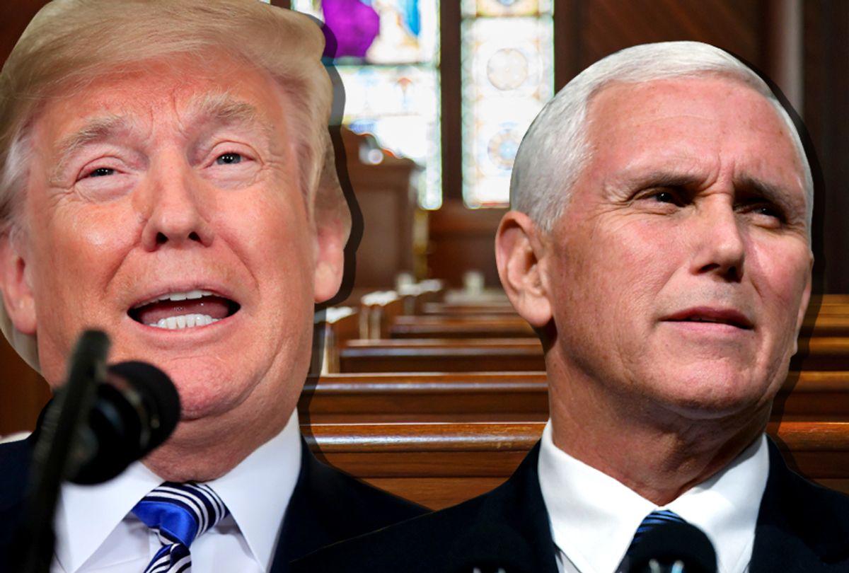 Donald Trump; Mike Pence (AP/Getty/Salon)