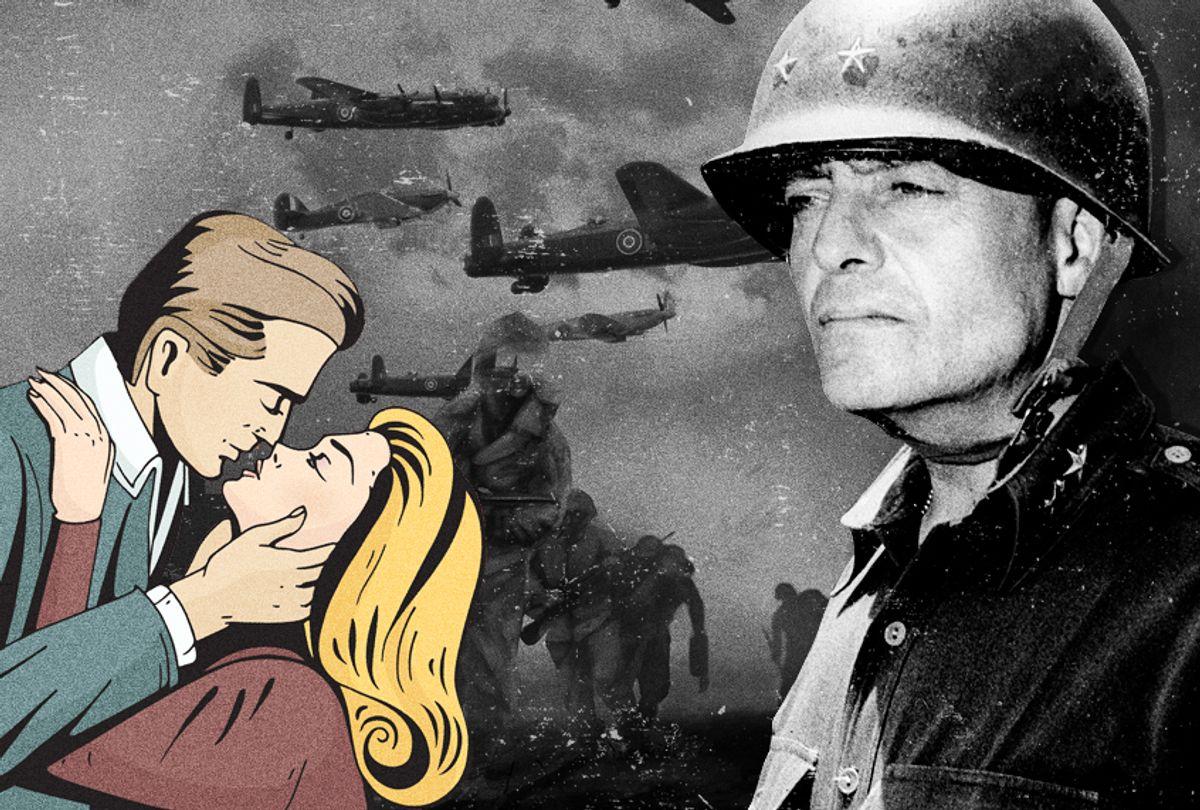 Major Gen. Lucian K. Truscott Jr. (AP/Getty/Photo Montage by Salon)