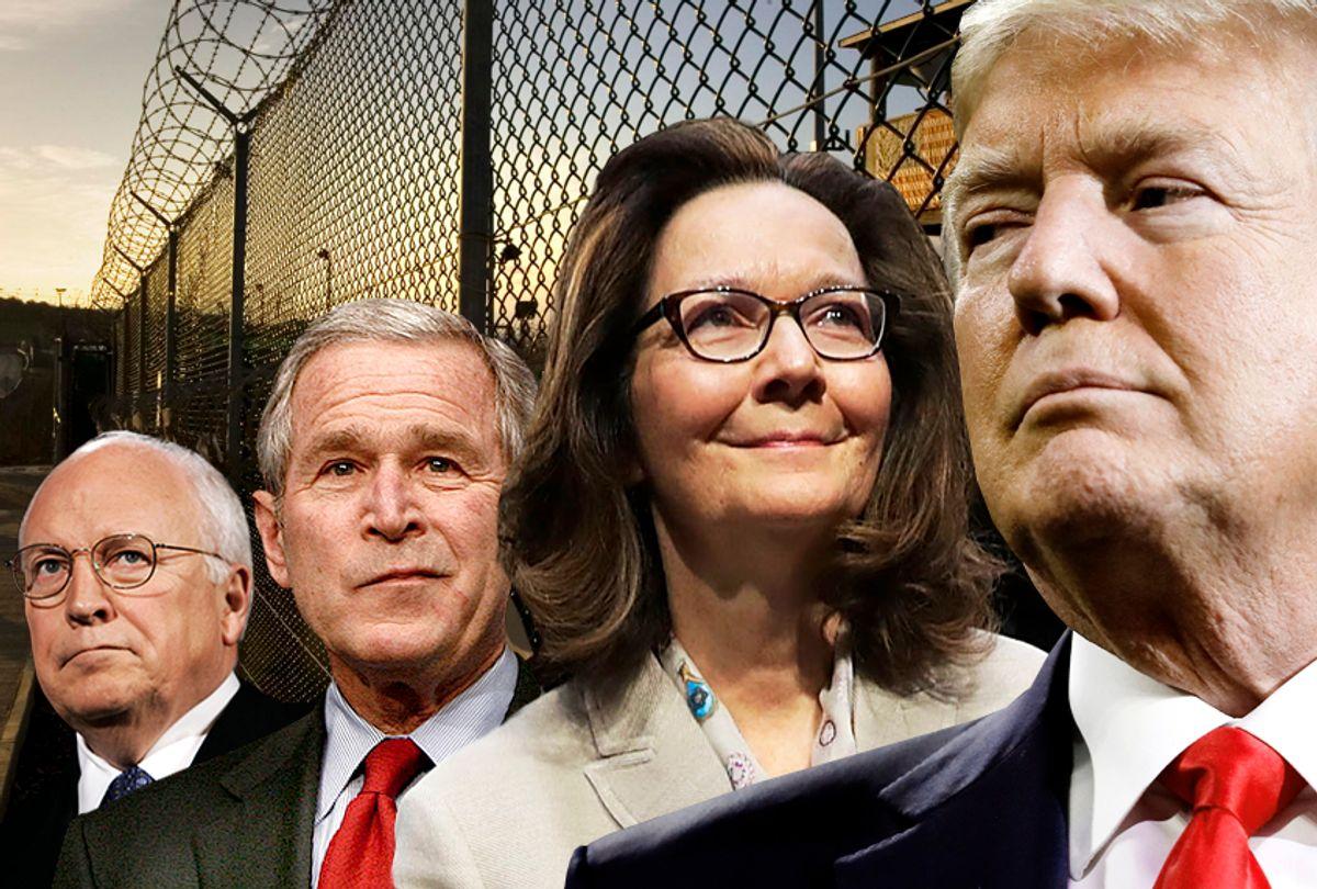 Dick Cheney; George W. Bush; Gina Haspel; Donald Trump (AP/Getty/Salon)