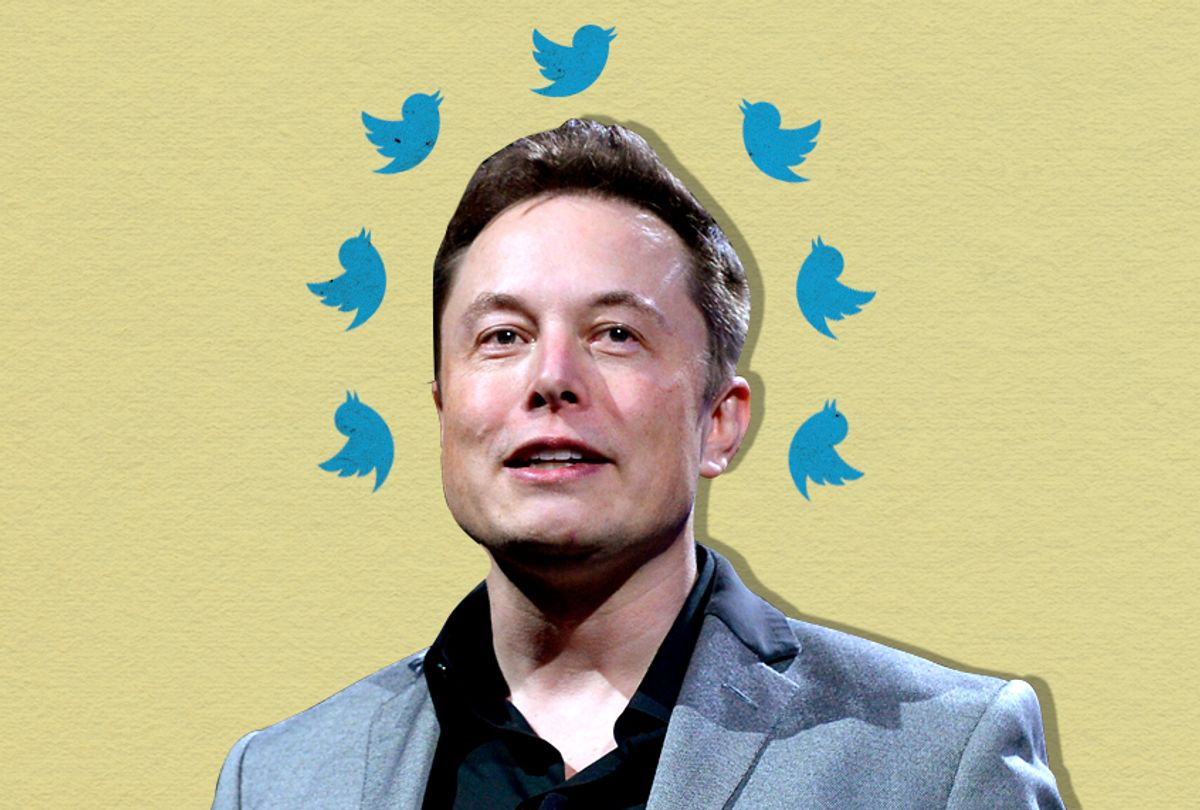 Elon Musk (Getty/Photo Montage by Salon)