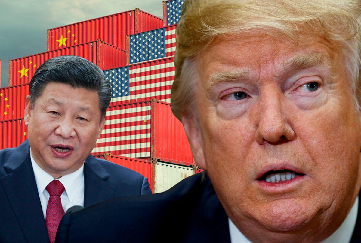 Xi Jinping; Donald Trump (AP/Getty/Salon)