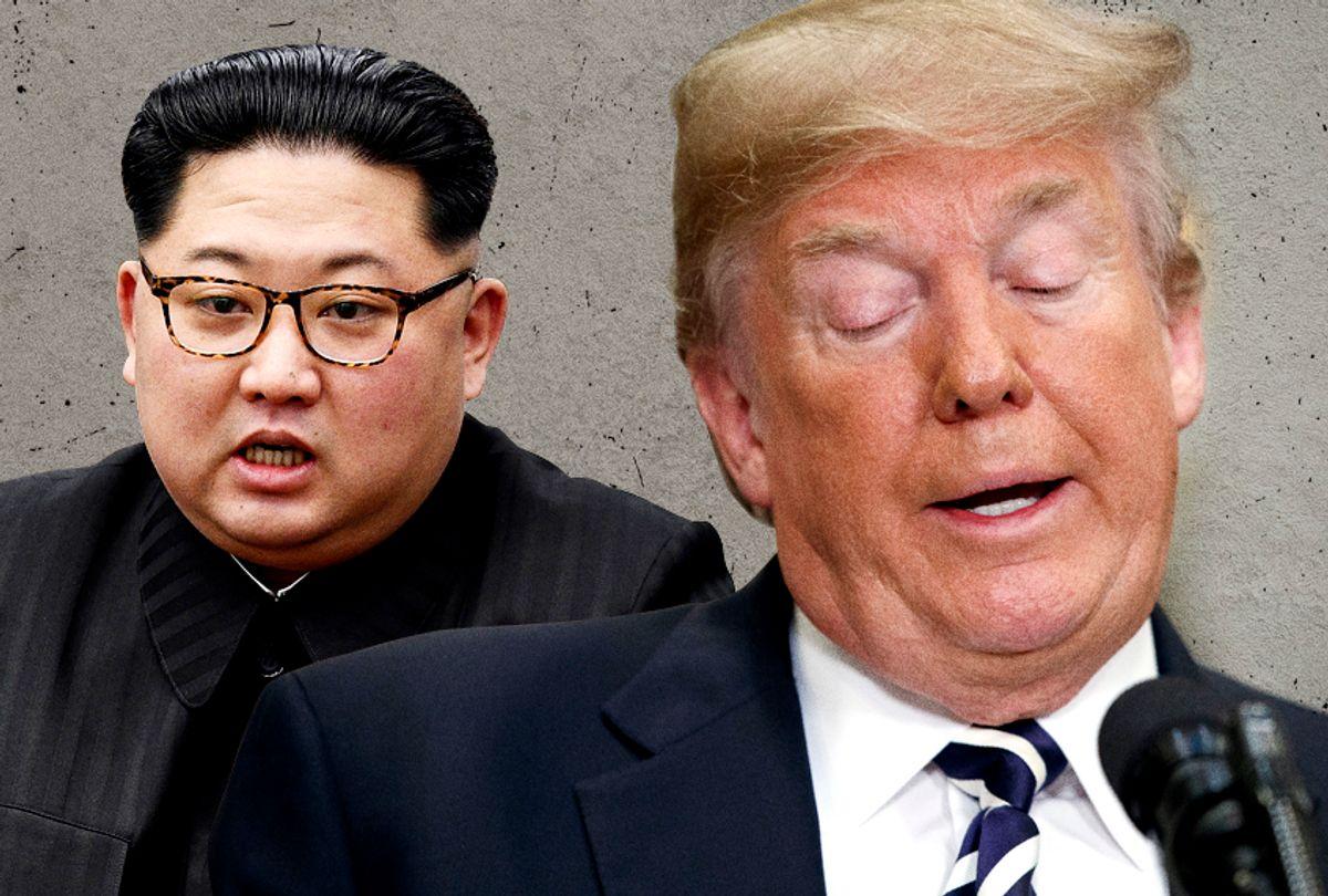 Kim Jong-un; Donald Trump (AP/Getty/Salon)