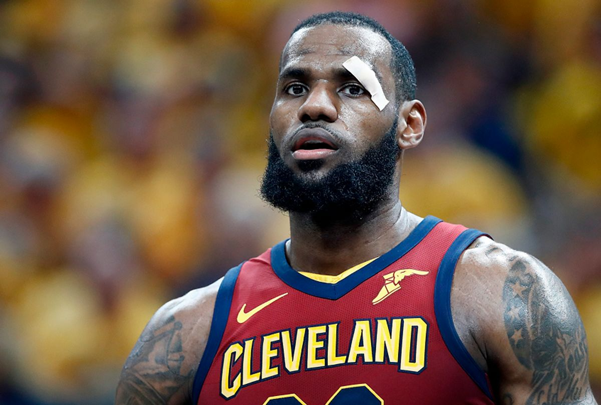 LeBron James (Getty/Andy Lyons)