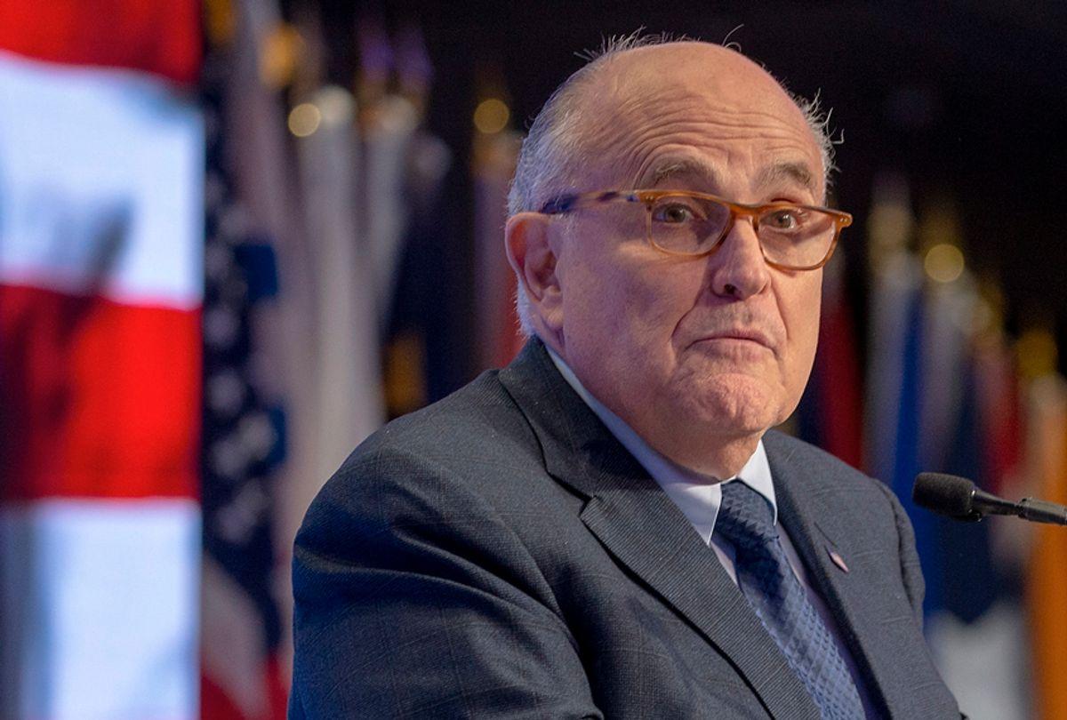 Rudy Giuliani (Getty/Tasos Katopodis)