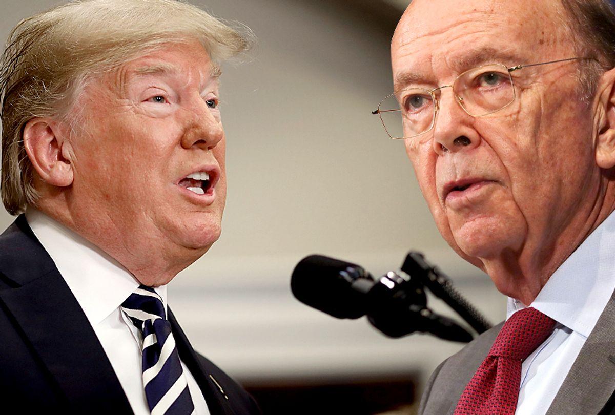 Donald Trump; Wilbur Ross (Getty/Salon)