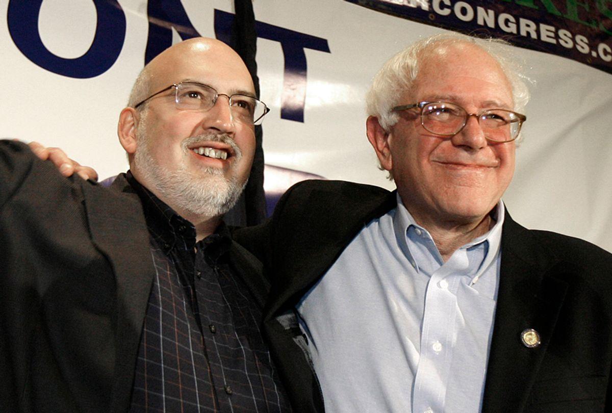Jeff Weaver, Bernie Sanders (AP/Toby Talbot)