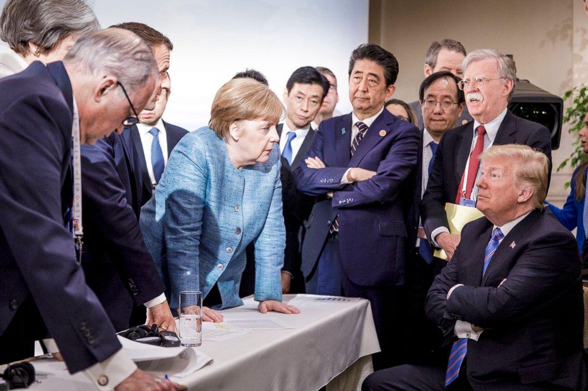 (Jesco Denzel/German Federal Government via AP)