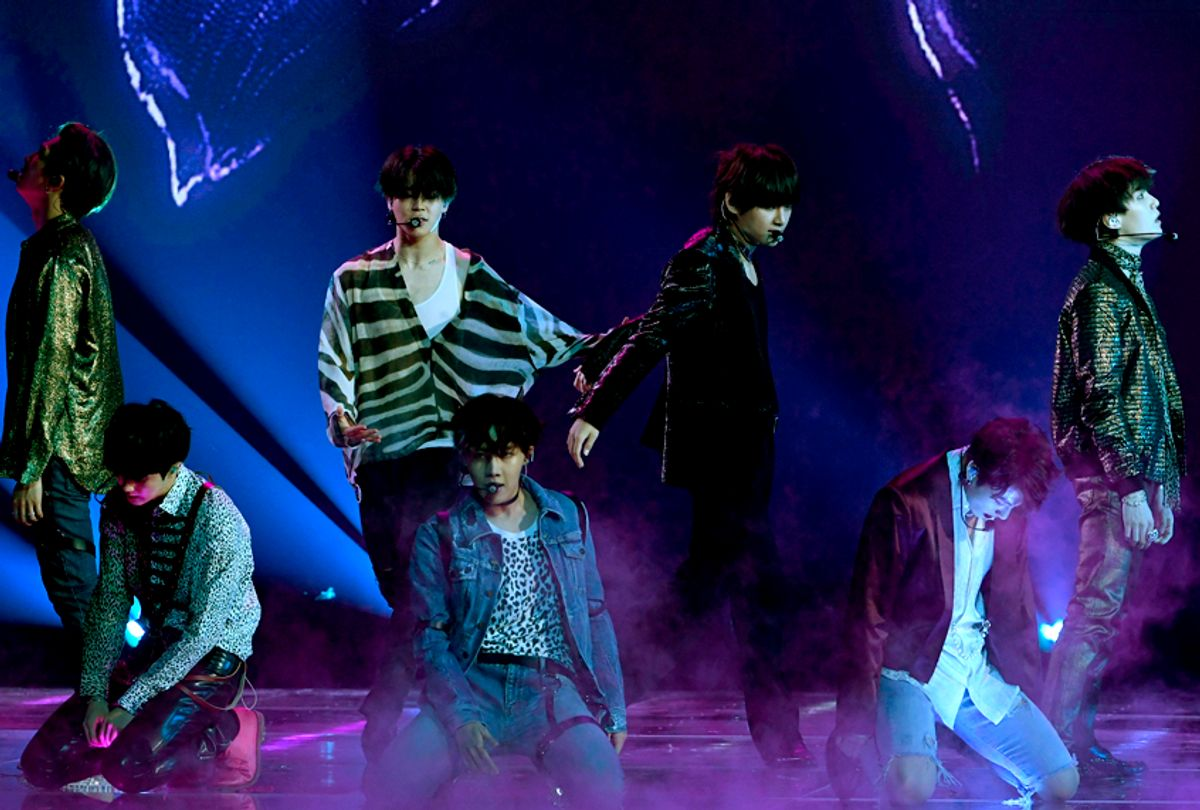 Music group BTS (Getty/Kevin Winter)