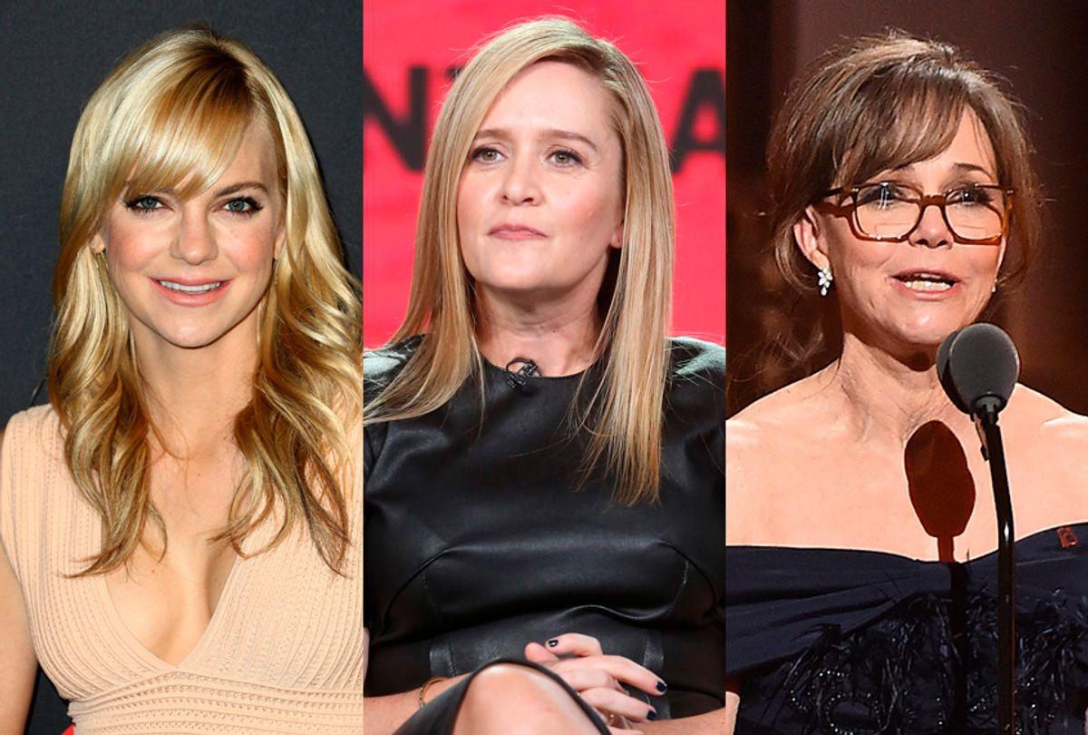 Anna Faris; Samantha Bee; Sally Field (Getty Images)