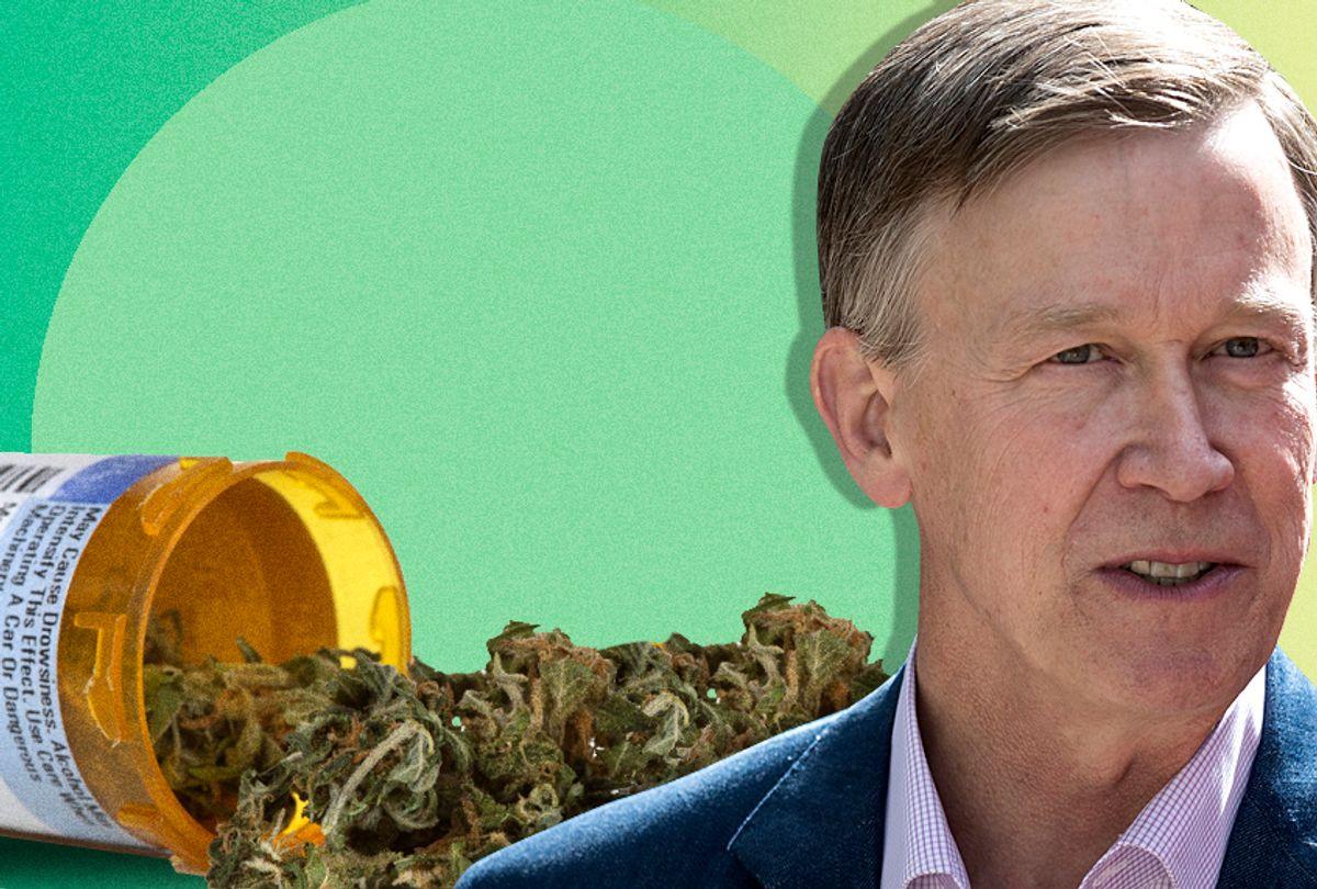 Colorado Governor John Hickenlooper (Getty/Photo Montage by Salon)