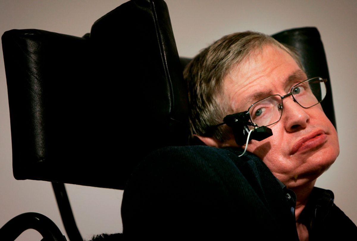 Stephen Hawking (Getty/Bruno Vincent)