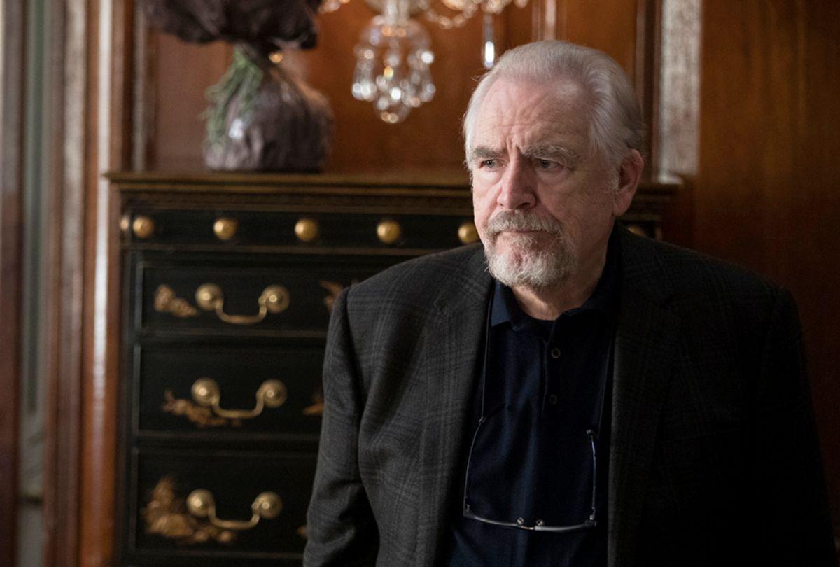 "Brian Cox as Logan Roy in ""Succession."" (Craig Blankenhorn/HBO)"