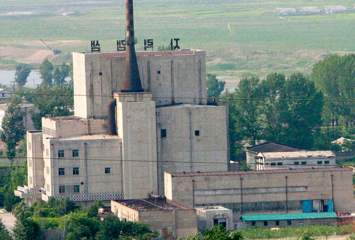 North Korea's Yongbyon Nuclear Scientific Research Center which is being expanded. (AP/Xinhua, Gao Haorong)