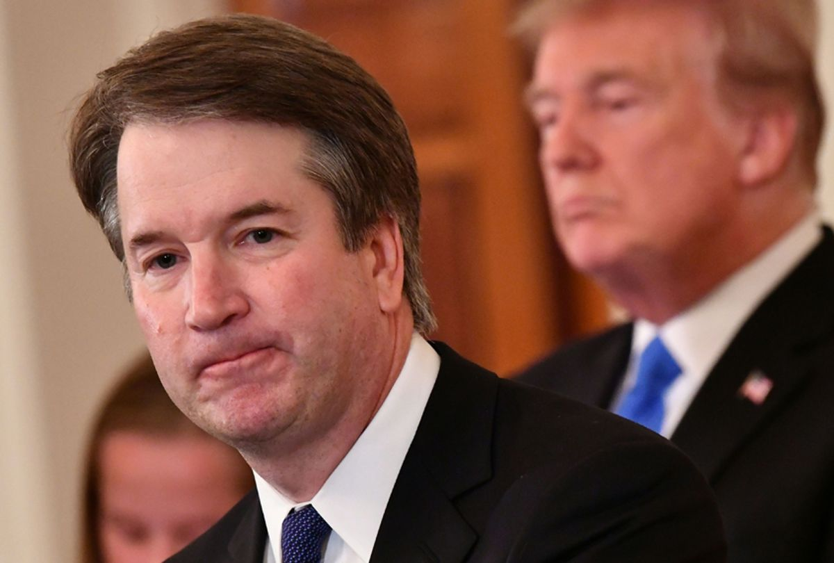 Supreme Court nominee Brett Kavanaugh speaks after Donald Trump announced his nomination at the White House on July 9, 2018. (Getty/Mandel Ngan)