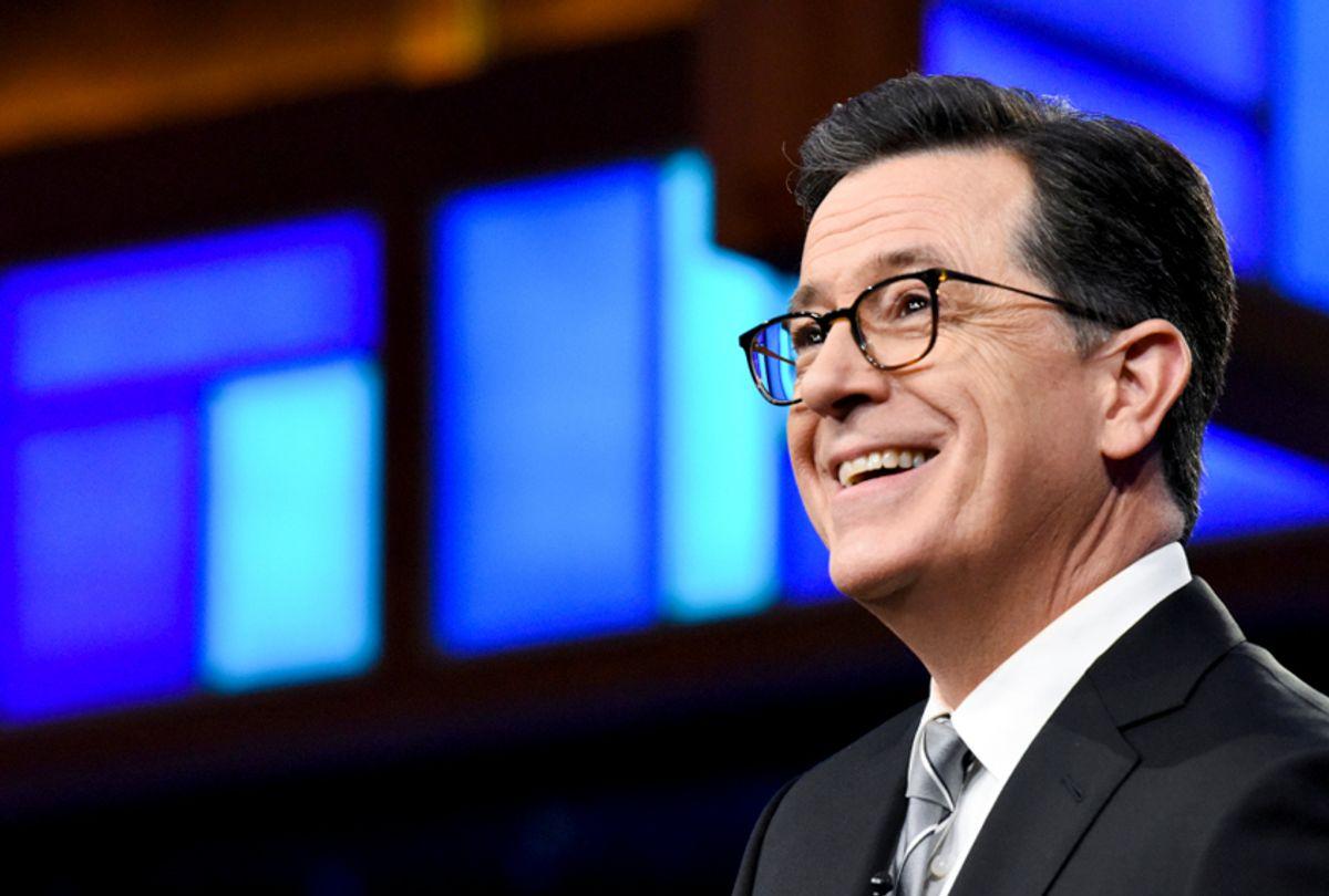 """The Late Show with Stephen Colbert"" (Scott Kowalchyk/CBS)"