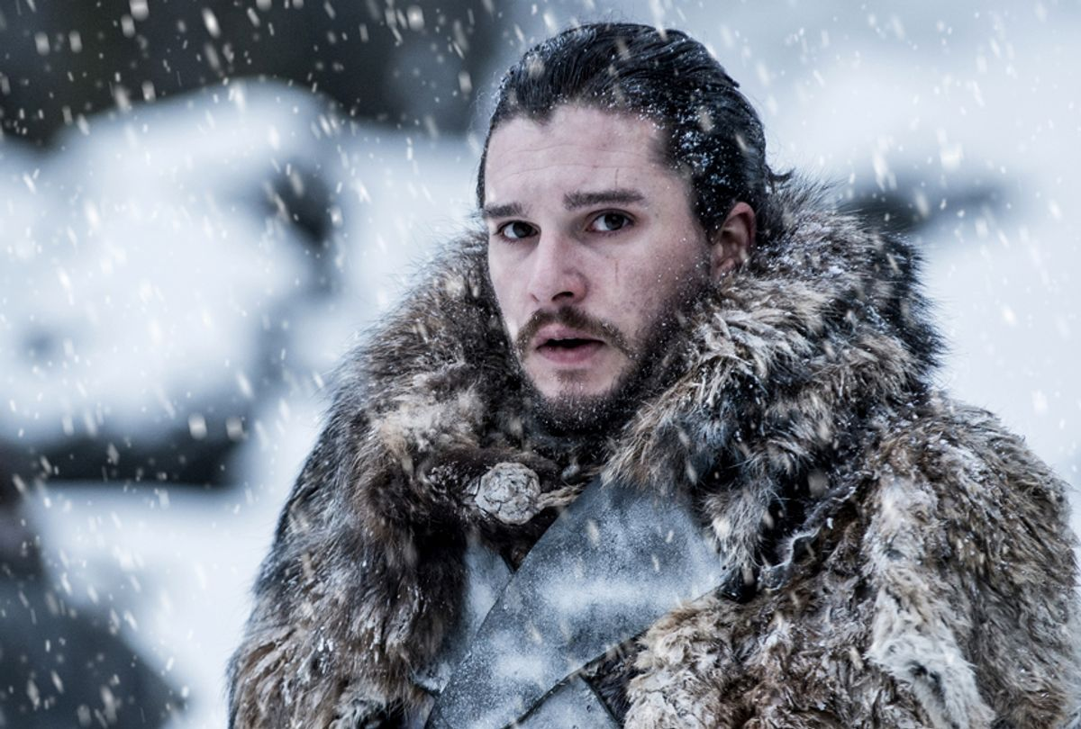 "Kit Harington as Jon Snow in ""Game of Thrones"" (HBO/Helen Sloan)"