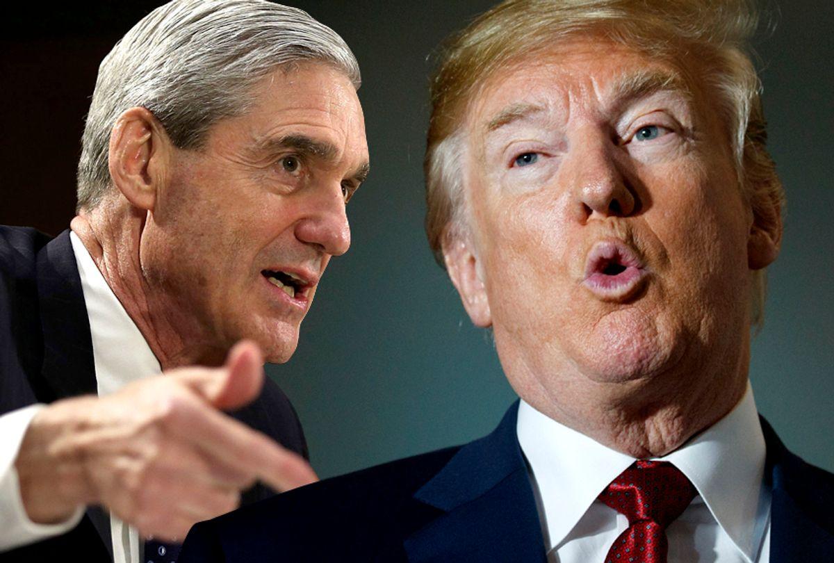 Robert Mueller; Donald Trump (Getty/AP/Salon)