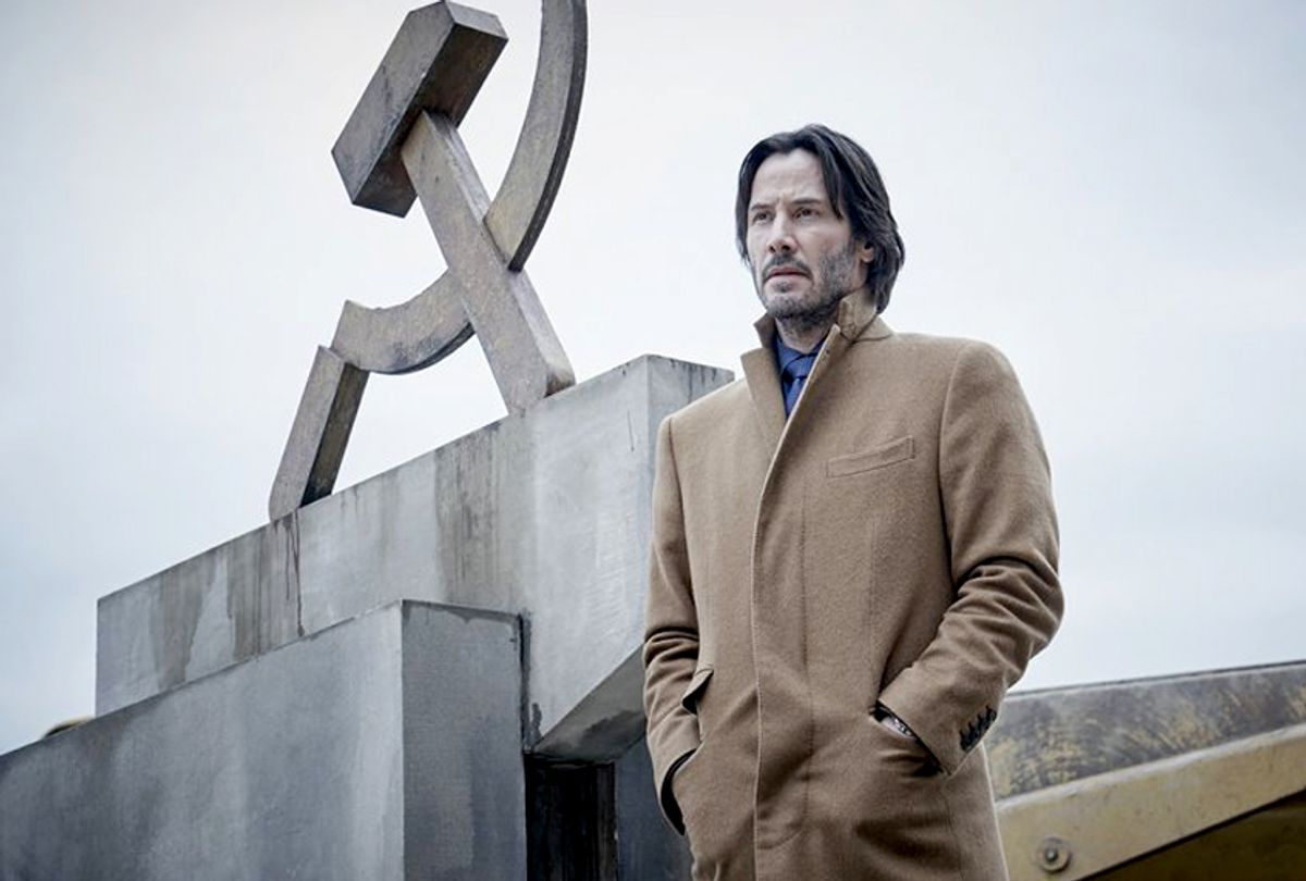 """Keanu Reeves as Lucas Hill in """"Siberia"""" (Buffalo Gal Pictures)"""