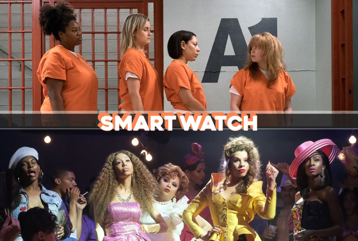 """Orange Is the New Black""; ""Pose"" (Netflix/FX/Salon)"