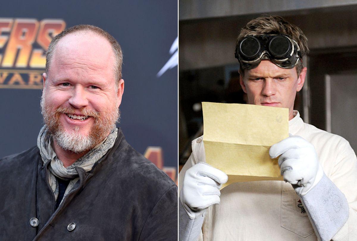 "Joss Whedon; Neil Patrick Harris as Billy/Dr. Horrible in ""Dr. Horrible's Sing-Along Blog"" (AP/Jordan Strauss/Mutant Enemy Productions)"