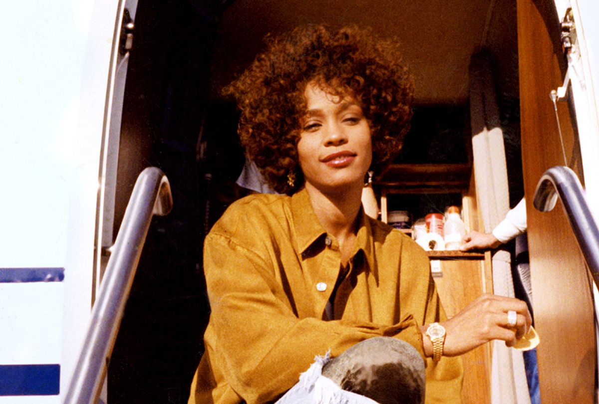 """A photo of Whitney Houston from the film """"Whitney"""" (Courtesy of The Estate of Whitney E. Houston)"""