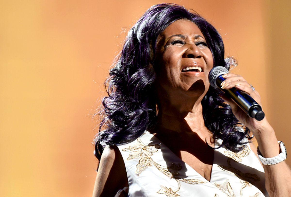 Aretha Franklin (Getty/Theo Wargo)