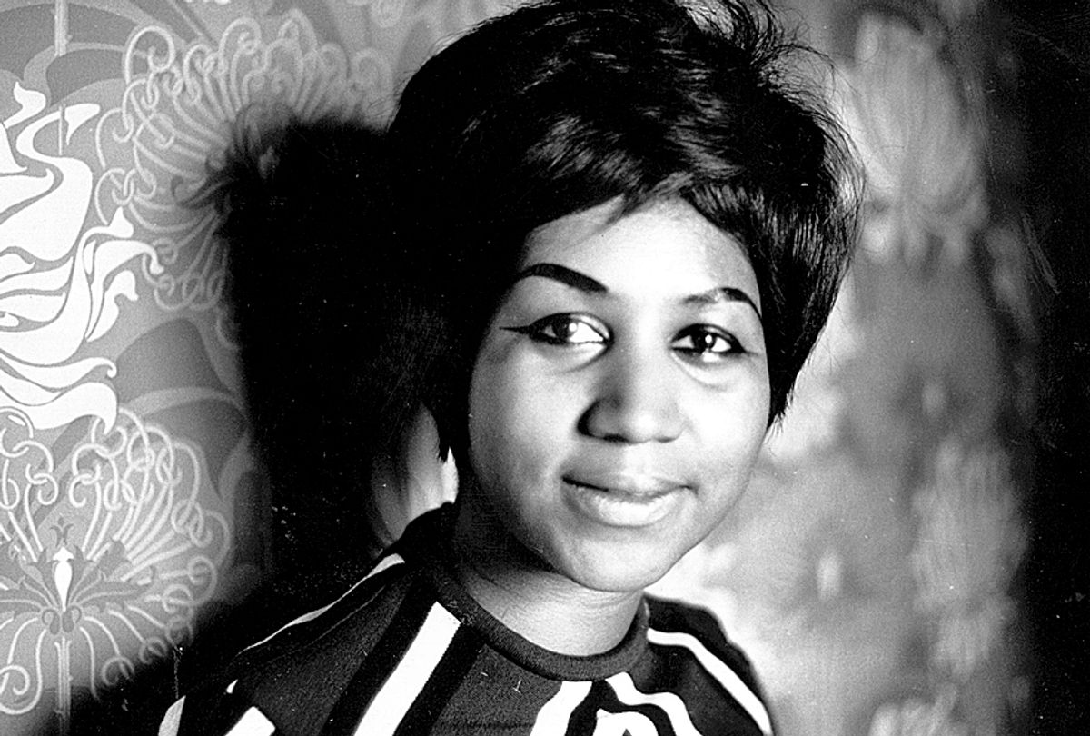 Aretha Franklin (Getty/Express Newspapers)