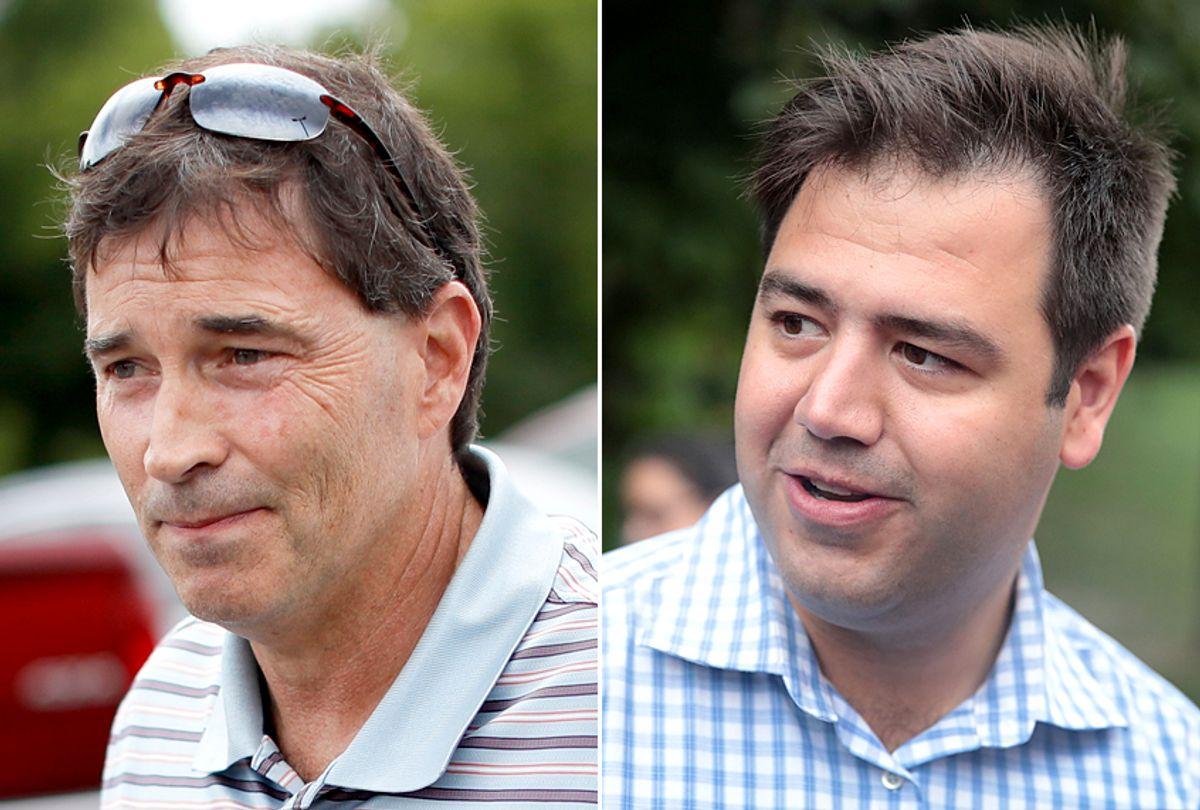 Troy Balderson; Danny O'Connor (AP/Getty)