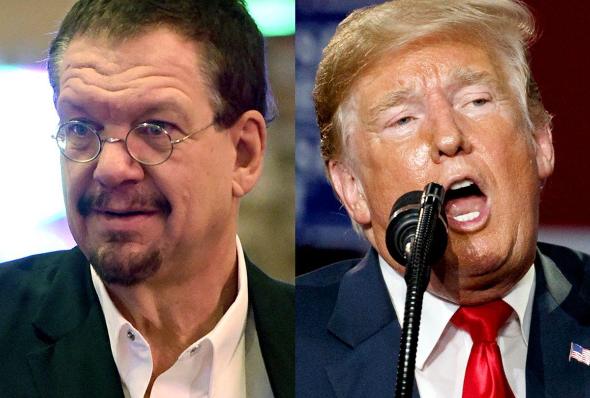 Penn Jillette; Donald Trump (Getty/Ethan Miller/AP/Carolyn Kaster)