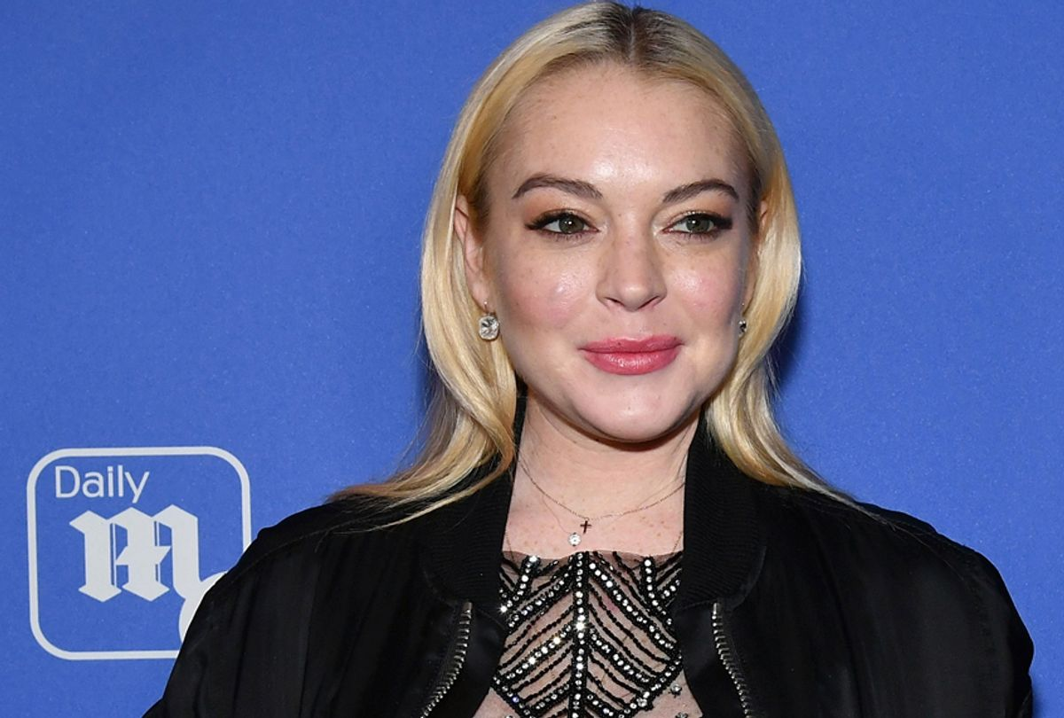 Lindsay Lohan (Getty/Slaven Vlasic)