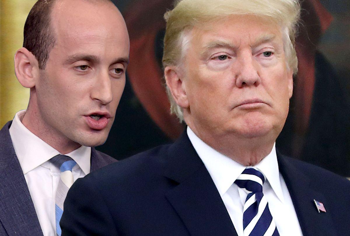 Stephen Miller; Donald Trump (Getty/AP/Salon)