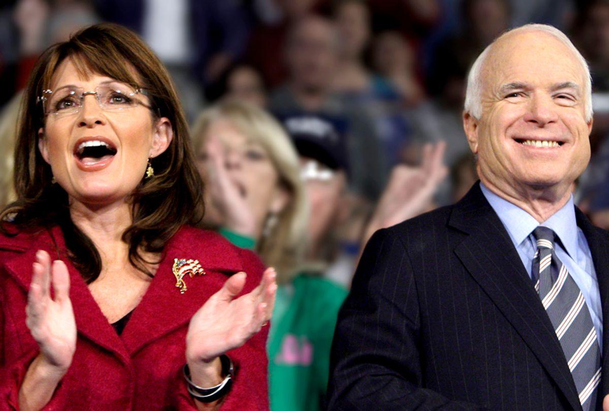 Sarah Palin; John McCain (AP/Carolyn Kaster)