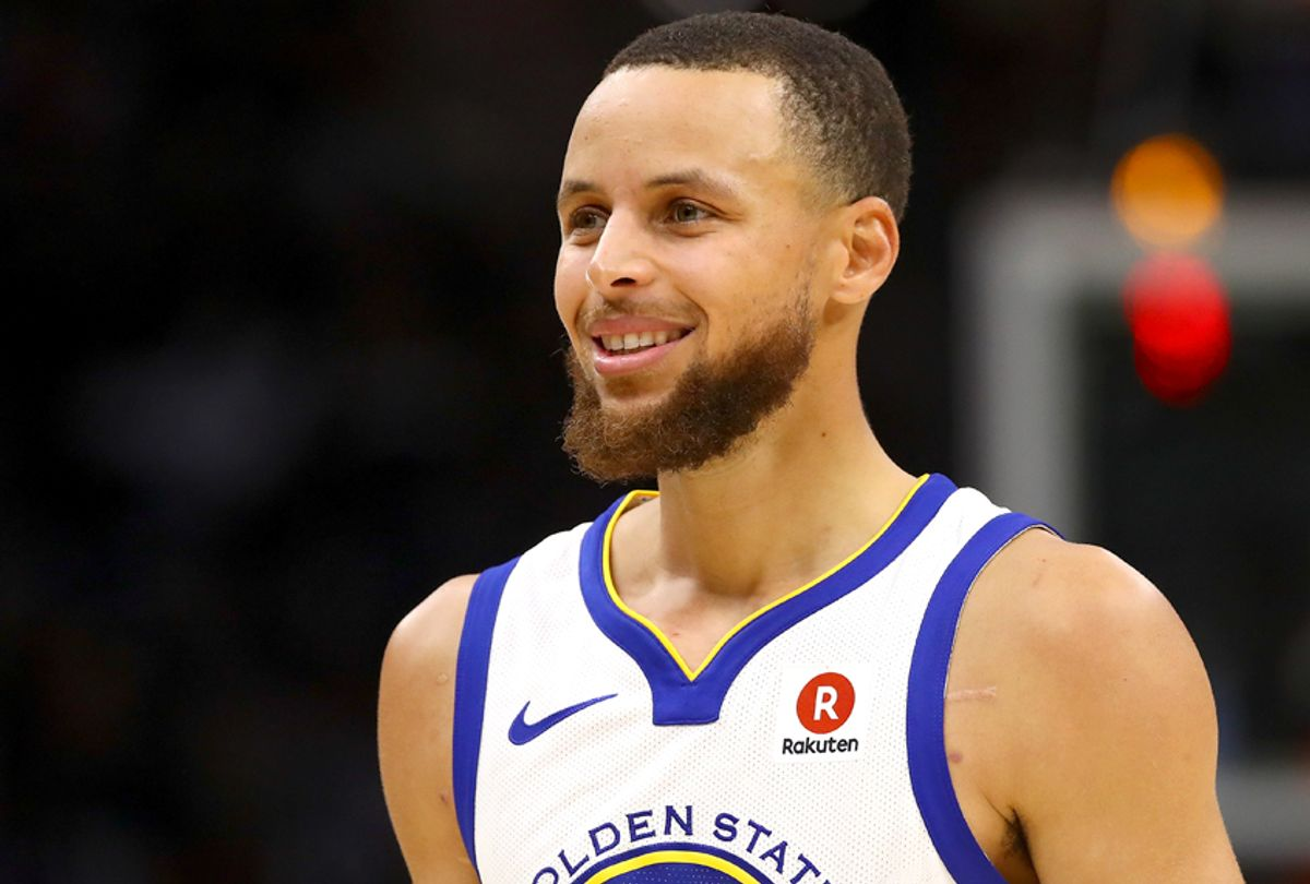 Stephen Curry of the Golden State Warriors (/Gregory Shamus Images)