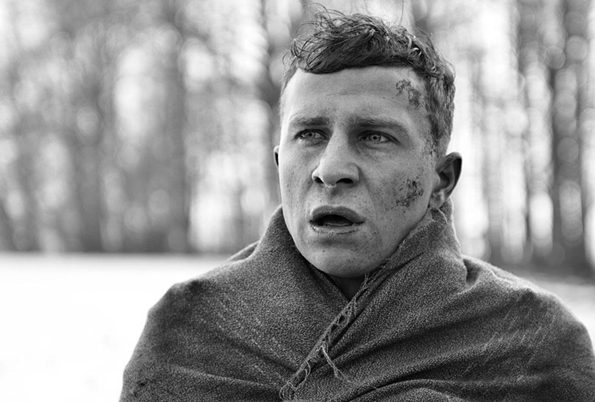 """Max Hubacher as Herold in """"The Captain"""" (Opus Film)"""