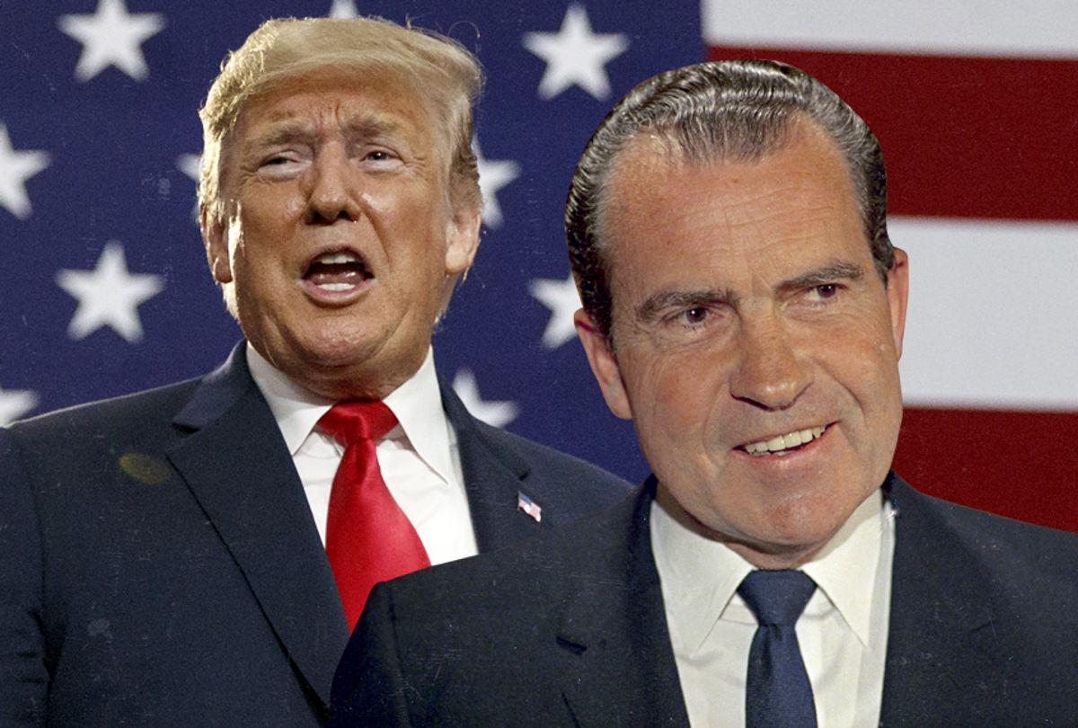 Donald Trump; Richard Nixon (AP/Getty/Salon)
