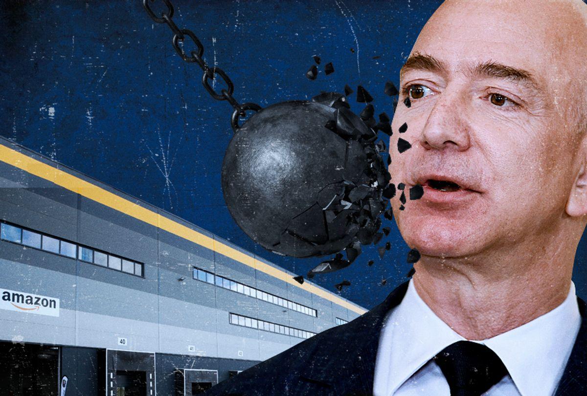 Jeff Bezos, the founder and CEO of Amazon.com (AP/Getty/Salon)