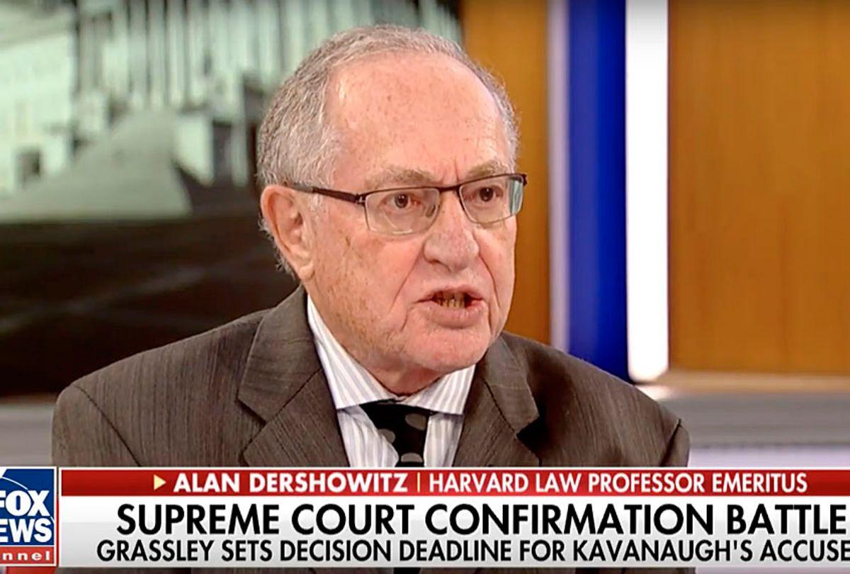 "Alan Dershowitz on ""America's Newsroom"" (Fox News)"