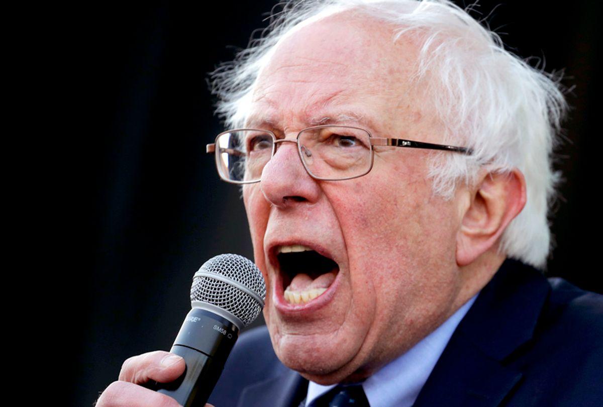 Sen. Bernie Sanders (AP/Mark Humphrey)