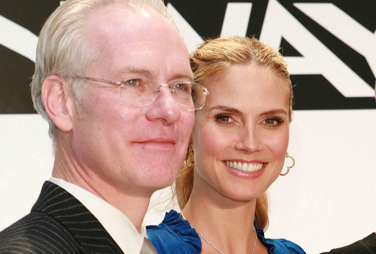 Tim Gunn, Heidi Klum (AP/Joseph Frisenda)