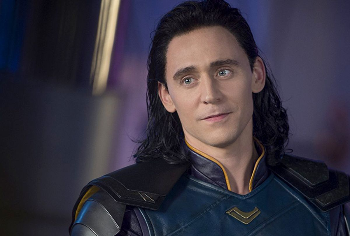 "Tom Hiddleston as Loki in ""Thor: Ragnarok"" (Marvel/Disney)"