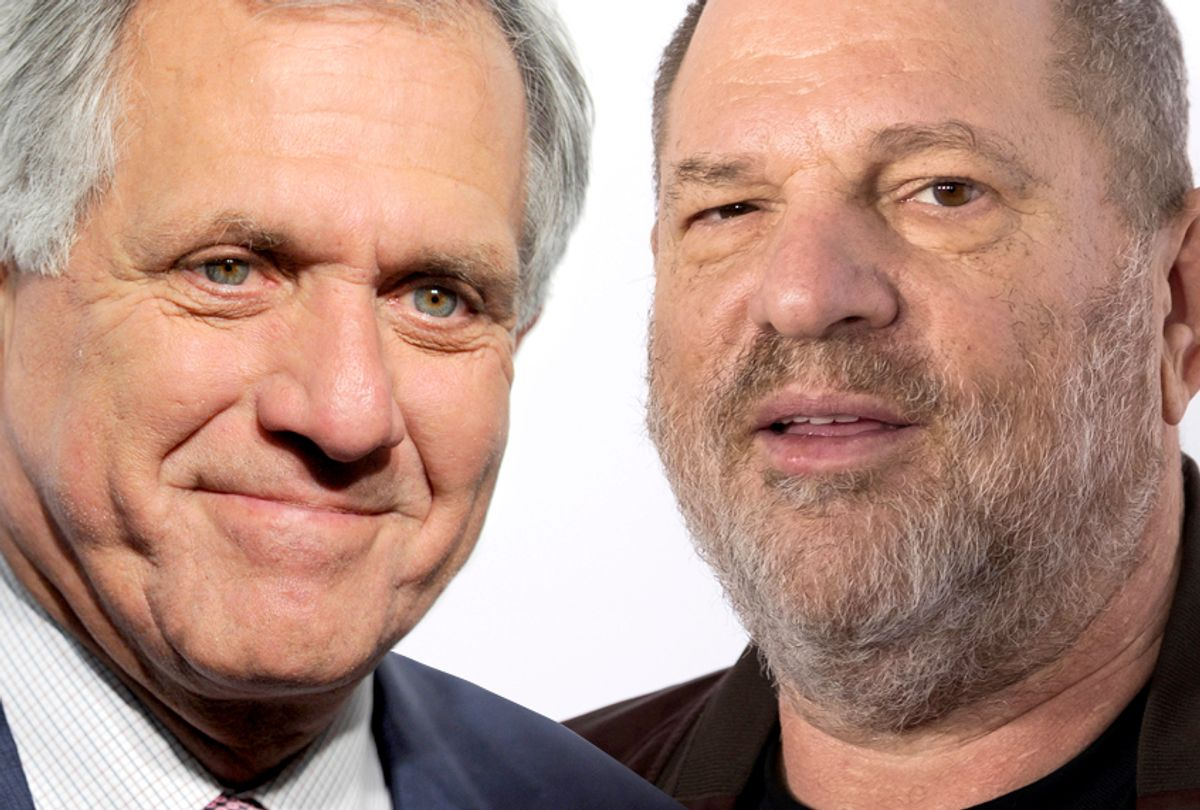 Les Moonves; Harvey Weinstein (AP/Salon)