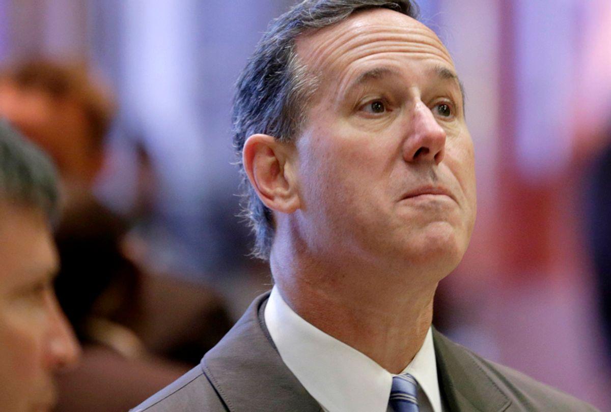Rick Santorum (AP/Seth Wenig)