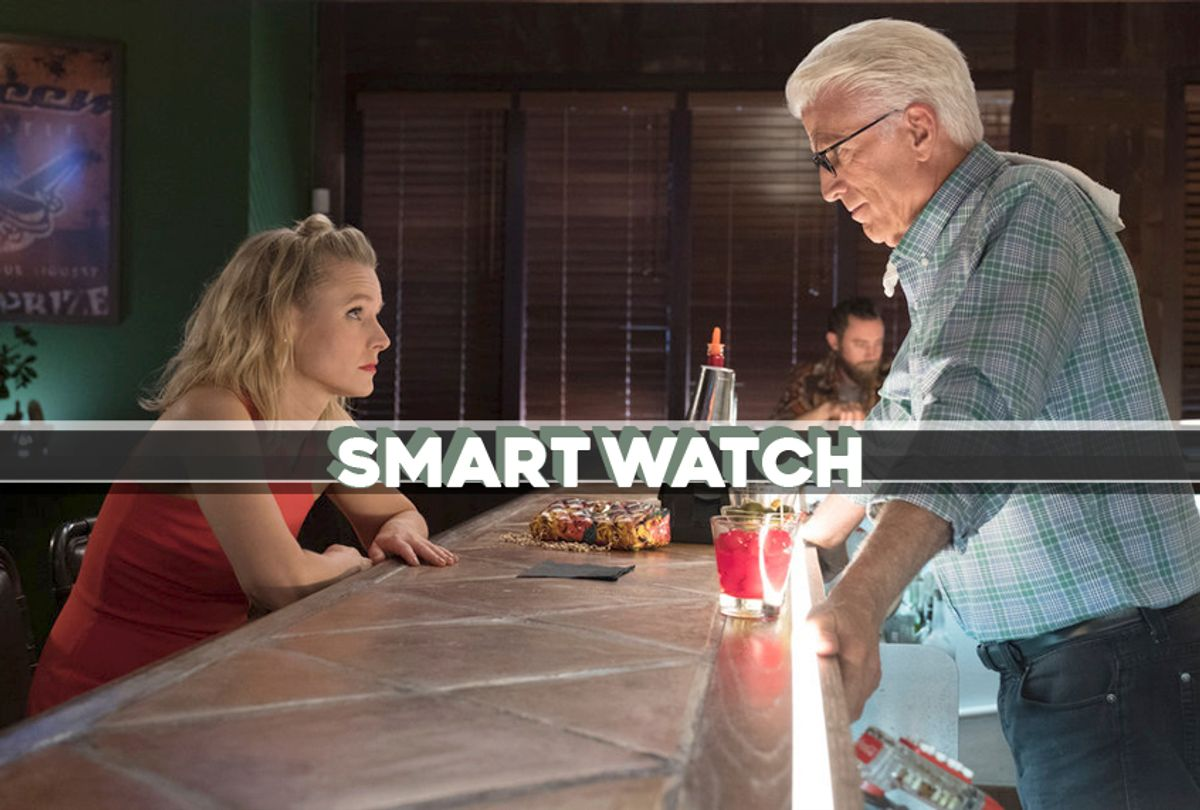 """Kristen Bell and Ted Danson in """"The Good Place"""" (NBC/Salon)"""