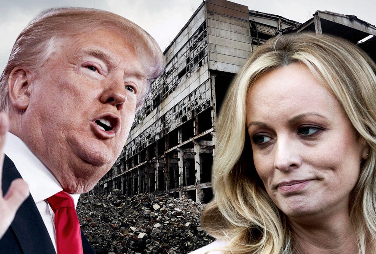 Donald Trump; Stormy Daniels (AP/Shutterstock/Salon)